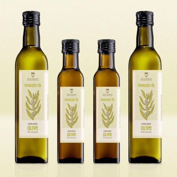 frisch gepresstes BIO ROHKOST Olivenöl