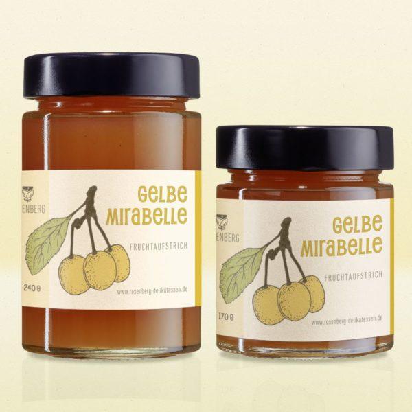 Bio Fruchtaufstrich Gelbe Mirabelle