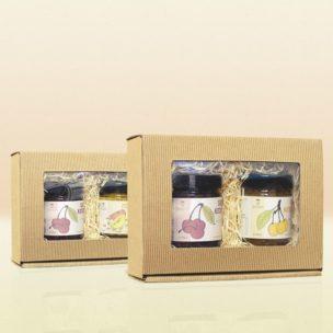 Geschenkboxen aus Karton mit Holzwolle für Geburtstage, Weihnachten und andere Feiertage